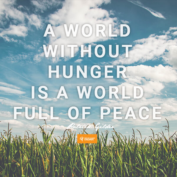 A World With No Hunger